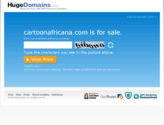 cartoonafricana.com screenshot