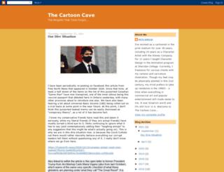 cartooncave.blogspot.com.au screenshot