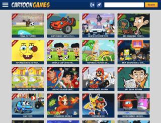 cartoongamesonline.net screenshot