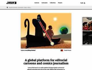 cartoonmovement.com screenshot