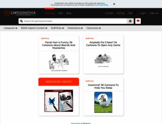 cartoonstock.com screenshot