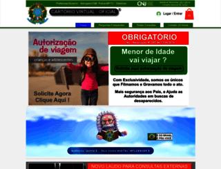 cartoriovirtual.org screenshot