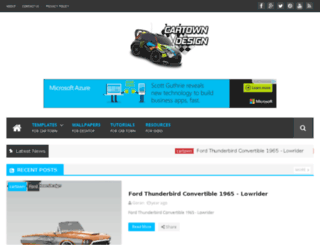 cartown-design.com screenshot