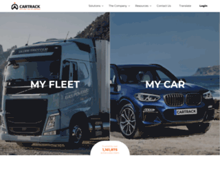 cartrack.co.tz screenshot