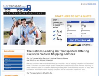 cartransport.org screenshot