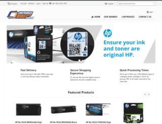 cartridgesdirect.com.hk screenshot
