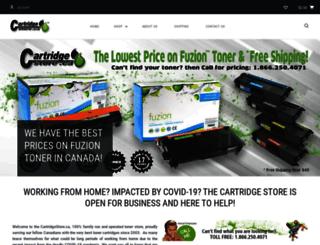 cartridgestore.ca screenshot