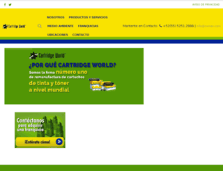 cartridgeworld.com.mx screenshot