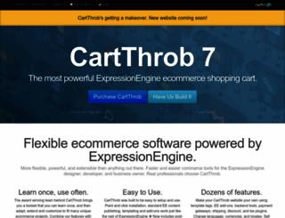 cartthrob.com screenshot
