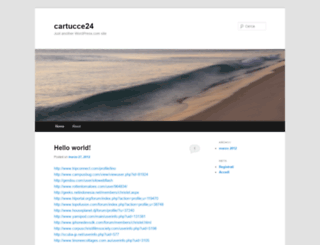 cartucce24.wordpress.com screenshot