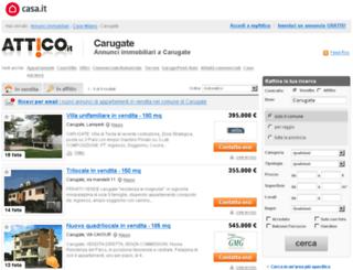 carugate.attico.it screenshot