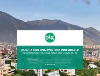 carupano.olx.com.ve screenshot