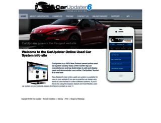 carupdater.com screenshot