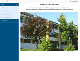 carusakademie.uniklinikum-dresden.de screenshot