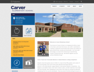carver.dbqschools.org screenshot