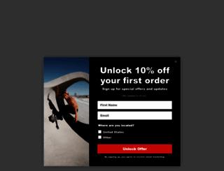 carverskateboards.com screenshot