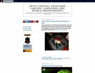 carvingfruitintoediblearrangements.blogspot.com screenshot
