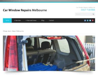 carwindowrepairsmelbourne.com.au screenshot