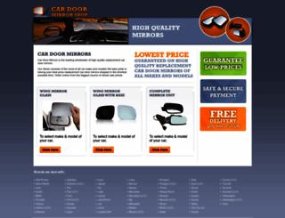 carwingmirrorshop.co.uk screenshot