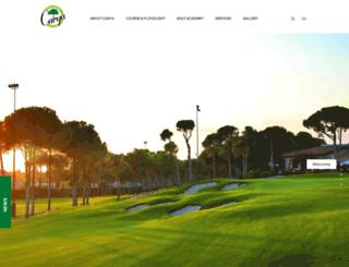 caryagolf.com screenshot