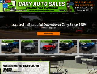 caryautosale.com screenshot