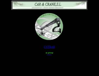 carycrane.com screenshot