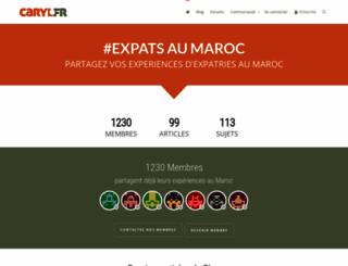 caryl.fr screenshot