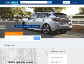 carz4sale.in screenshot