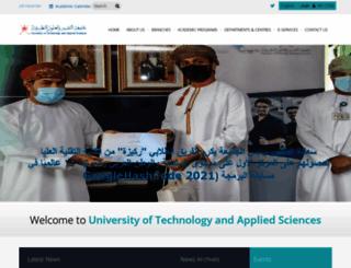 cas.edu.om screenshot