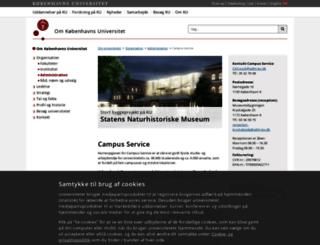 cas.ku.dk screenshot