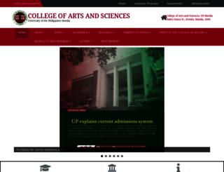 cas.upm.edu.ph screenshot