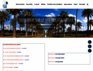 casa-accueil.org screenshot