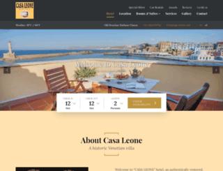 casa-leone.com screenshot