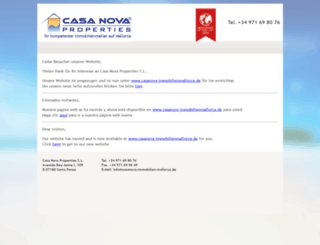 casa-nova-properties.eu screenshot