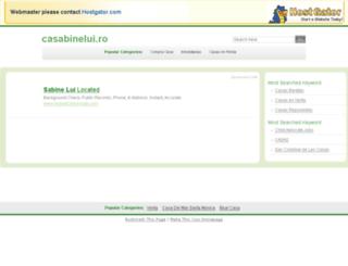 casabinelui.ro screenshot