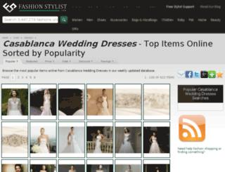 casablanca-wedding-dresses.fashionstylist.com screenshot