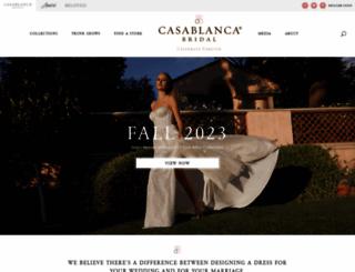 casablancabridal.com screenshot
