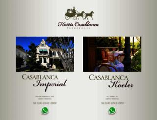 casablancahotel.com.br screenshot