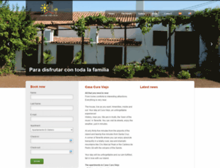 casacuraviejo.com screenshot