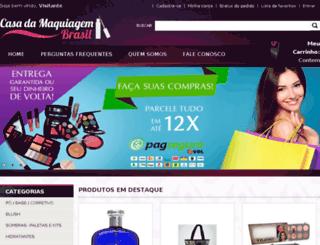 casadamaquiagembrasil.com.br screenshot