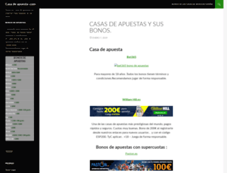 casadeapuesta.com screenshot