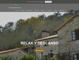 casadearrueiro.com screenshot