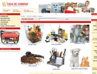 casadecomenzi.ro screenshot