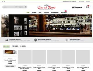 casadelrasoio.com screenshot