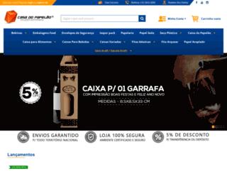 casadopapelao.com.br screenshot
