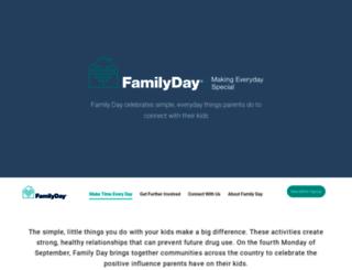 casafamilyday.org screenshot