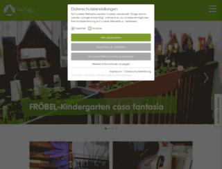 casafantasia.froebel.info screenshot