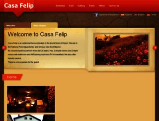 casafelip.com screenshot