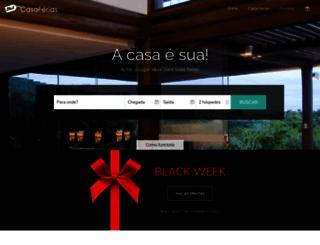 casaferias.com.br screenshot