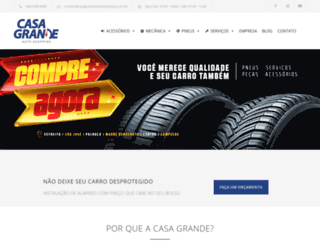 casagrandeautoshopping.com.br screenshot